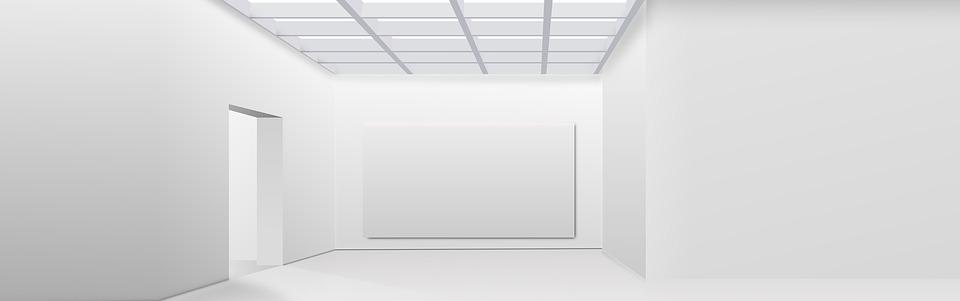 biela miestnosť