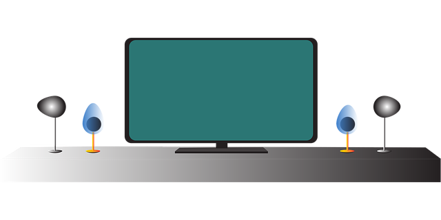televize na polici